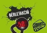 50%-OS BÉRLETAKCIÓ a CrossFit Watt-ban!