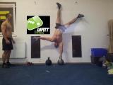 Dusa, a Watt Fitness egy CF versenyzője