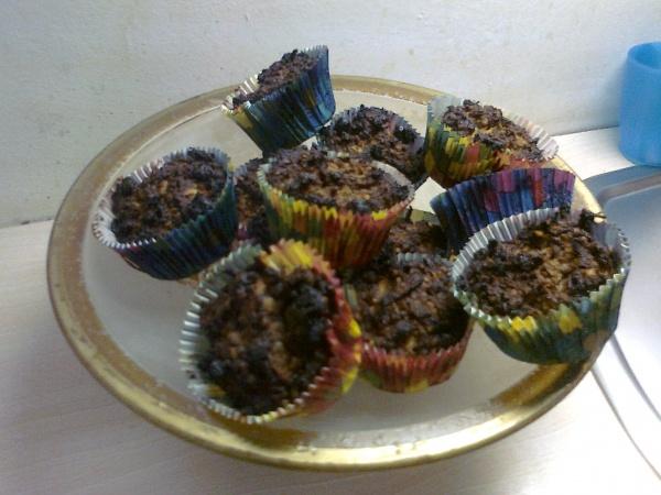zsírégető muffin teteje