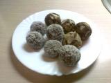 Kókuszos-mandulás gyümölcs golyó/ paleo