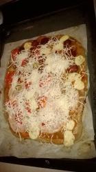 PALEO PIZZA,- az egyik kedvencünk ;)